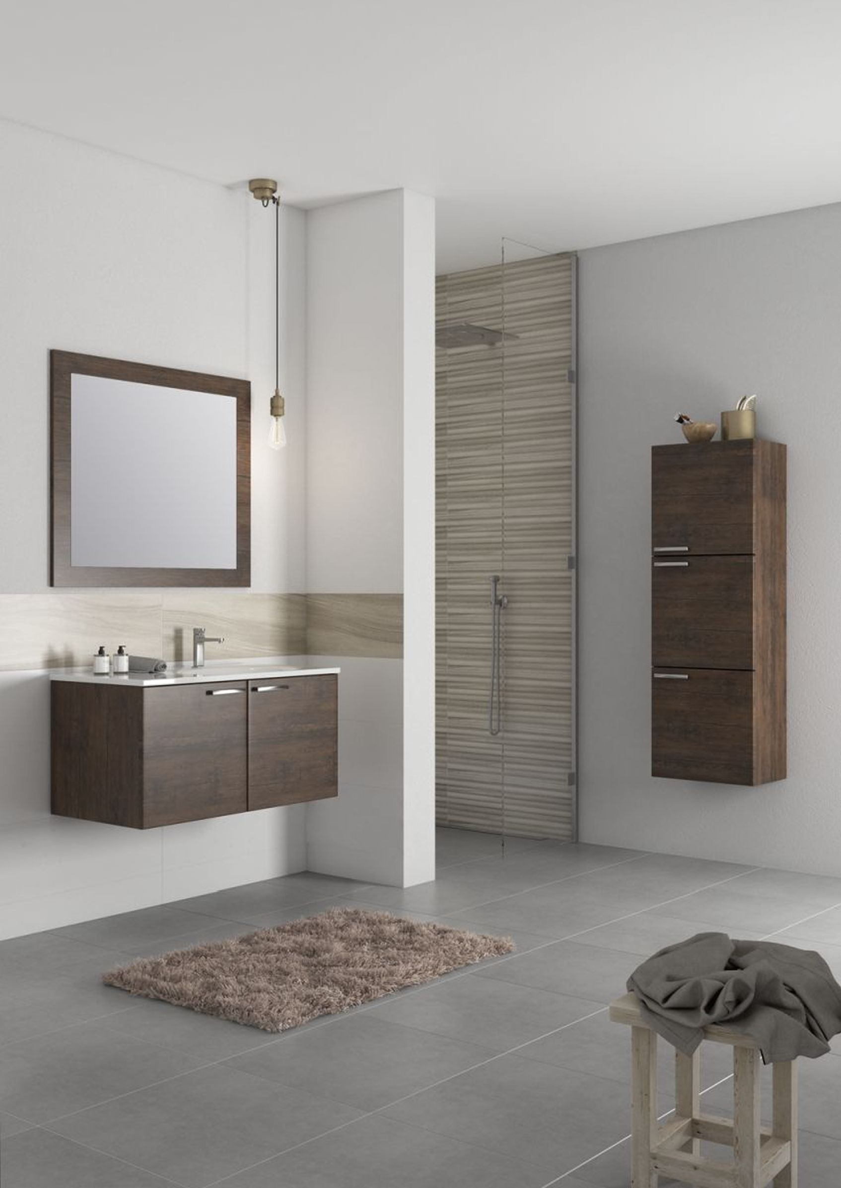 Meble łazienkowe Antado Sycylia Czyli Połączenie Stylu I