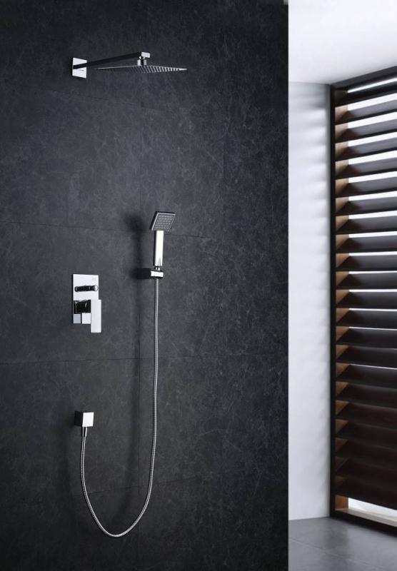 Blue Water Toronto Zestaw Prysznicowy Podtynkowy Z Deszczownicą I