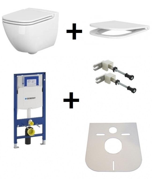 ➊➋➌ Toaleta Wc Cersanit Caspia K110233k980145111320005