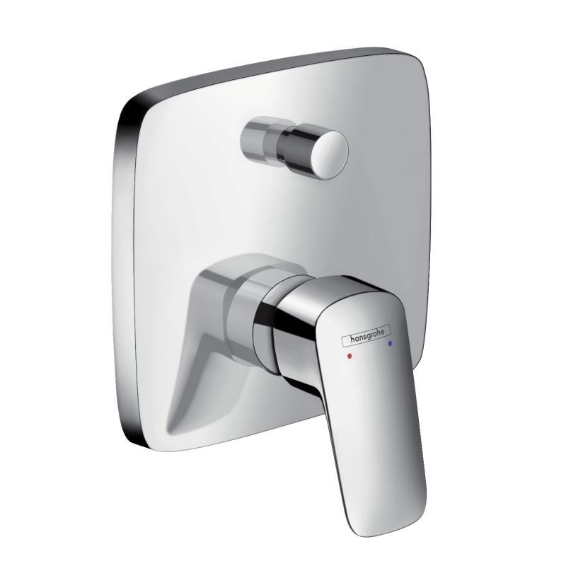 ➊➋➌ Bateria Wannowa Prysznicowa Podtynkowa Hansgrohe Logis