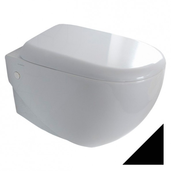 ➊➋➌ Toaleta Wc Hidra Abc Abw10009 52x36 Cm Muszle Miski