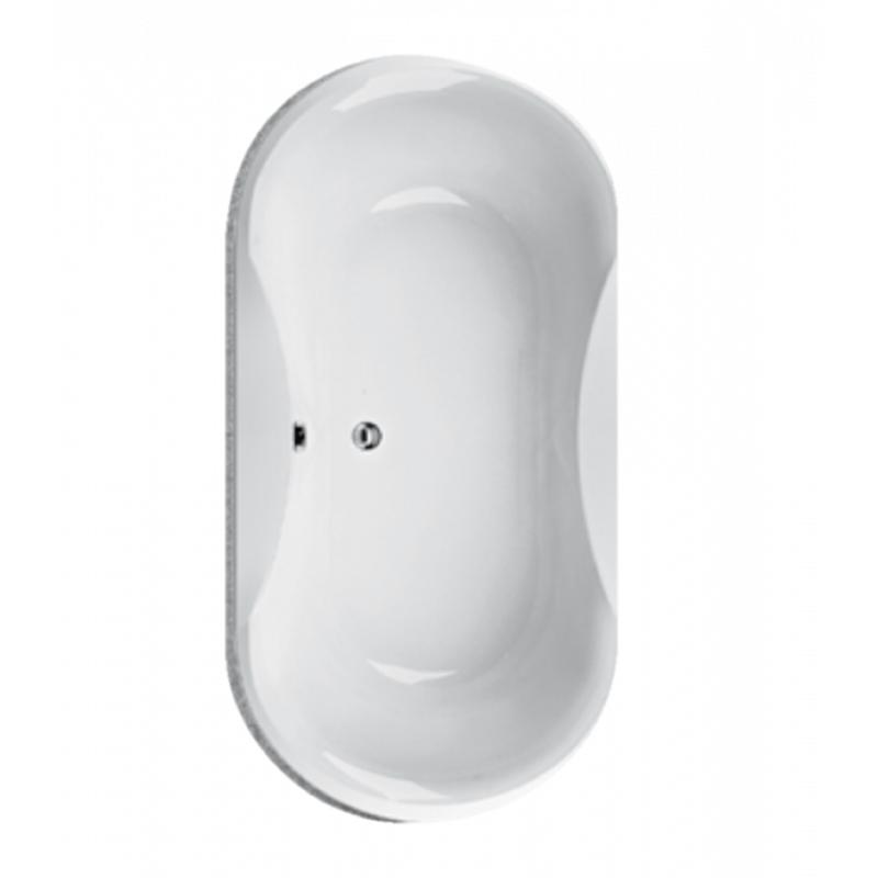 03ee9e7b64843 Ruben Konsta Wanna wolnostojąca owalna 185x90x45 cm z systemem hydromasażu  Neos, biała RUBKONWANWOL185X90BIANEOS