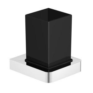 Czarna galanteria łazienkowa