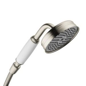 Słuchawki prysznicowe retro