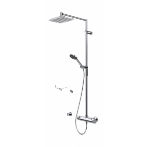 2194 Zestawy Prysznicowe Zestaw Prysznicowy Natryskowy Podtynkowy