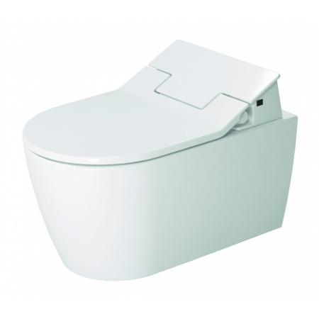 Duravit Me by Starck SensoWash Slim Toaleta WC Rimless 57x37 cm z deską myjącą biała 631000002004300