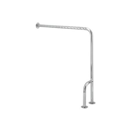 Koło poręcz WC LEHNEN FUNKTION z mocowaniem ścienno - podłogowym 85 x 85 cm, prawa (L1052112)