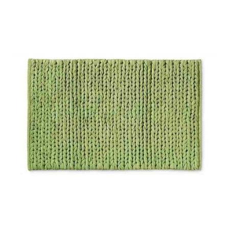 Tiger Knitted Mata łazienkowa 55x70 Leaf zielony 698136041