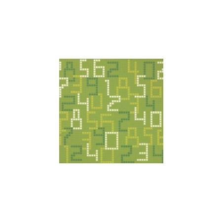 BISAZZA Data Green mozaika szklana zielona (BIMSZDG)