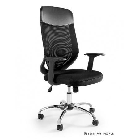 Unique Mobi Plus Fotel biurowy, czarny W-952-4