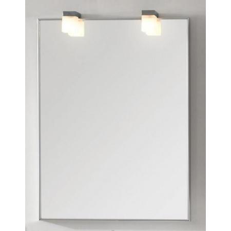 Antado Akcesoria łazienkowe Lustro Aluminium białe ALB-60x80