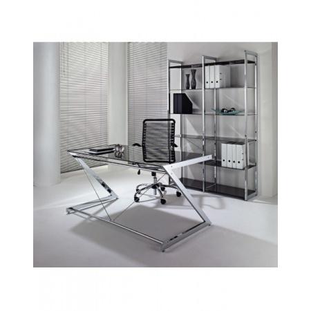 Unique Z-Line Computer Desk Biurko 122x76 cm, czarne 816-02-B-C