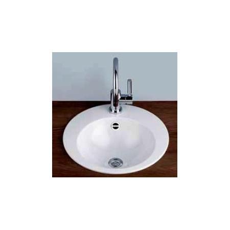 Alape EB.K450H Umywalka wpuszczana w blat 45 cm emaliowana biała 2004090400