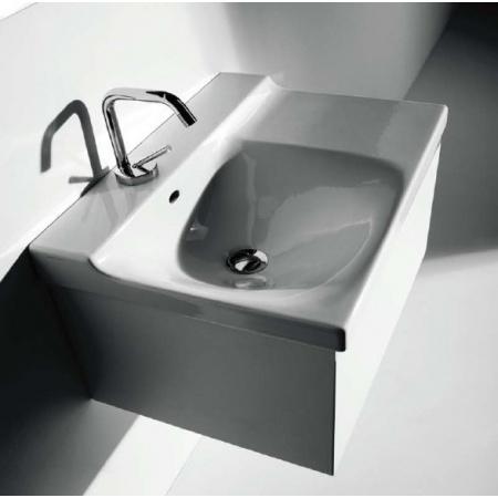 Kerasan Agua Libre Buddy Szafka wisząca pod umywalkę 60 cm biała 9107