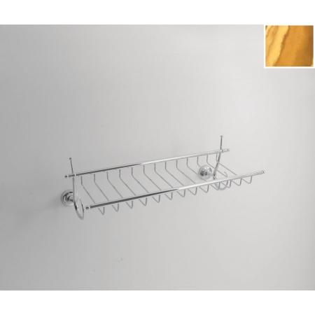 Kerasan Retro Koszyk na przybory toaletowe 58 cm, złoty 737891