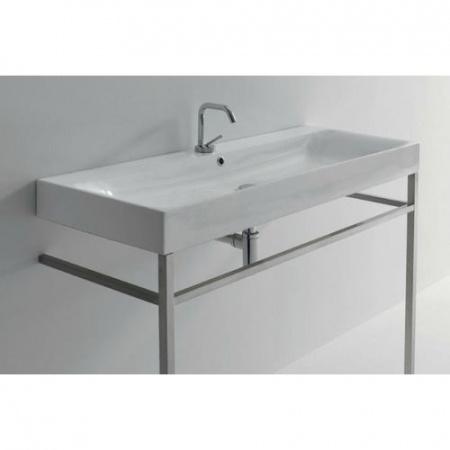 Kerasan Cento Reling do umywalki 64 cm, nikiel 911902