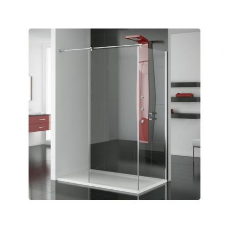 Ronal Modulo Ścianka prysznicowa typu Walk-in - 90 x 150 x 200 cm biały Szkło przezroczyste (MOD4901500407)