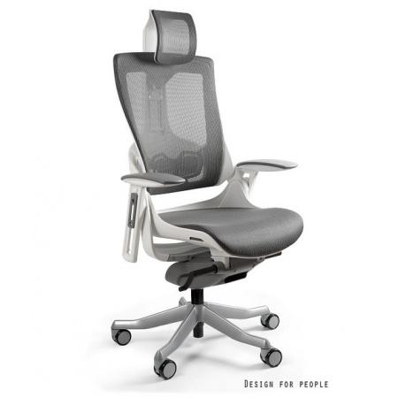 Unique Wau 2 Fotel biurowy, biały/grafitowy W-709W-NW41