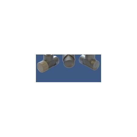 Schlosser Zestaw łazienkowy LUX GZ 1/2x złączka 16x2 PEX - osiowo lewy satyna (603700039)