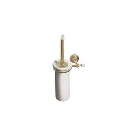 Giulini Giovanni Ibisco Crystal Szczotka wisząca WC ceramiczna - Swarovski, stare złoto RG1133SBR