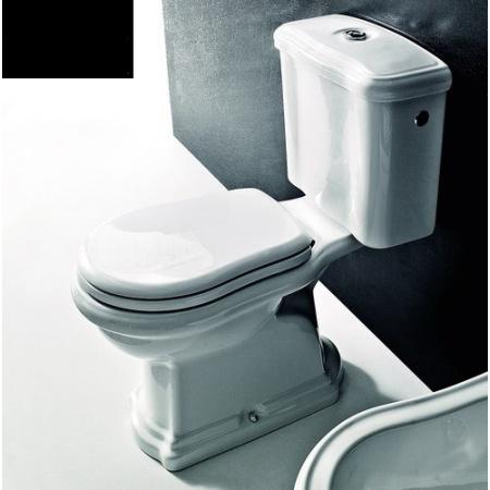 Kerasan Retro Miska WC stojąca 72x38,5 cm, czarna 101304