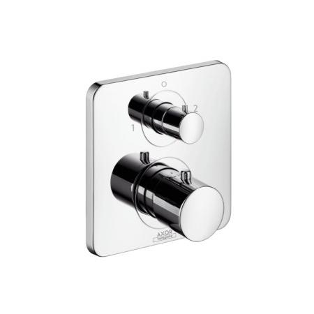 Axor Citterio M Jednouchwytowa bateria prysznicowa podtynkowa z zaworem odcinająco-przełączającym, chrom 34725000