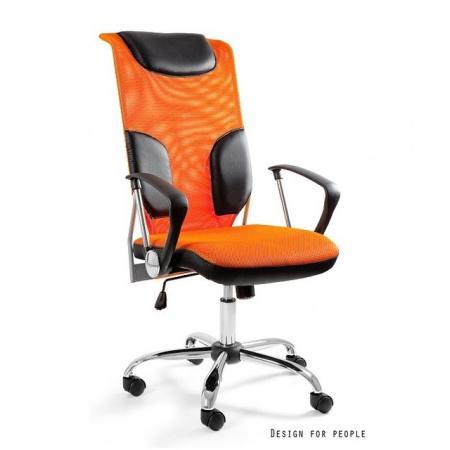Unique Thunder Fotel biurowy, pomarańczowy W-58-5