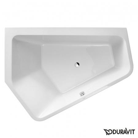 Duravit Paiova 5 Wanna narożna akrylowa ze zintegrowaną obudową 190x140cm, lewa, biała 70039600000000