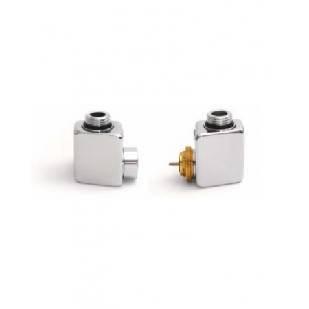 Terma Technologie Dexter Zestaw termostatyczny z gwintem zewnętrznym lewy, chrom TGETCR002