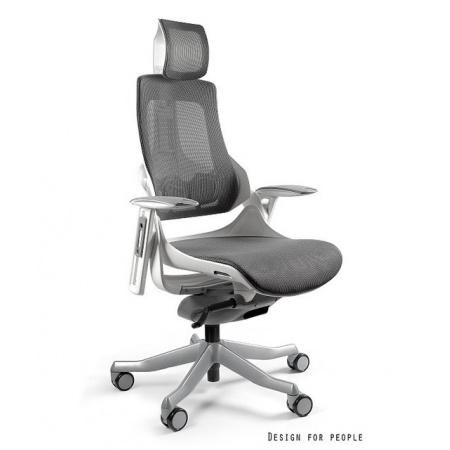 Unique Wau Fotel biurowy, siatka, grafitowy W-609W-NW41