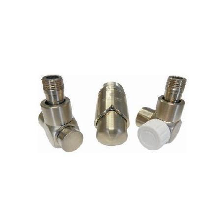 Schlosser Exclusive zestaw łazienkowy GZ ½ x złączka 15x1 Cu osiowo lewy złoto 601700130