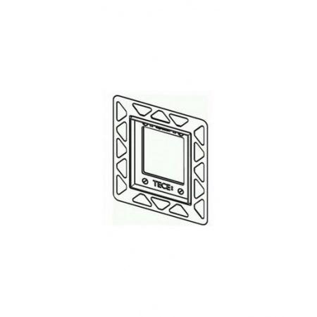 Tece Loop Rama montażowa do przycisków spłukujących do pisuaru, pozłacany 9.242.648