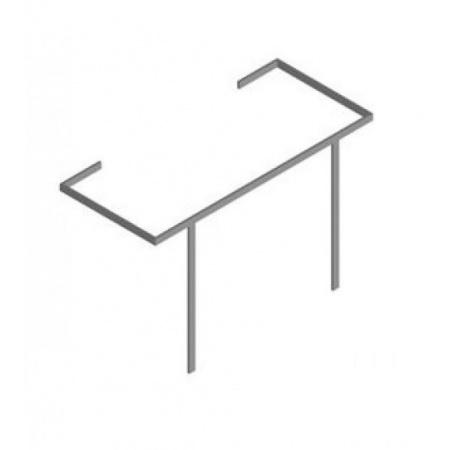 Hatria Daytime Reling podumywalkowy 48x109 cm, stalowy Y0PE