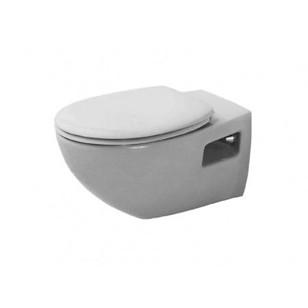 Duravit Duraplus Miska WC podwieszana Colomba 36x57,5 cm, lejowa, biała 2547090000