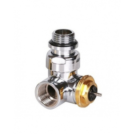 Terma Technologie Zawór termostatyczny trójosiowy gwint wewnętrzny lewy, chrom TGZTCR001