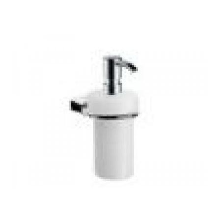 EMCO logo2 Dozownik do mydła w płynie z uchwytem 6,8x13,9x17 cm, chrom 302100101