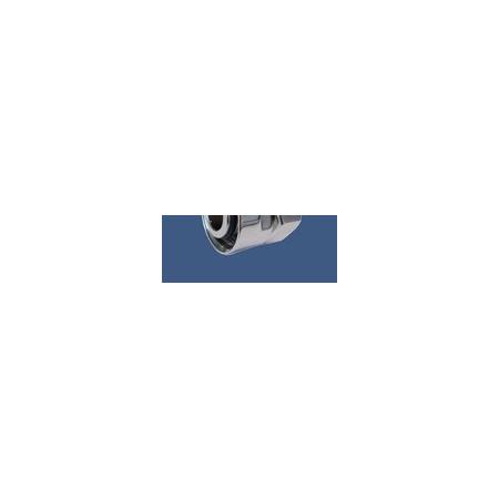 Schlosser Złączka zaciskowa do rury stalowej GW M22x1,5 x GW1/2 satyna (6027 00002.02)
