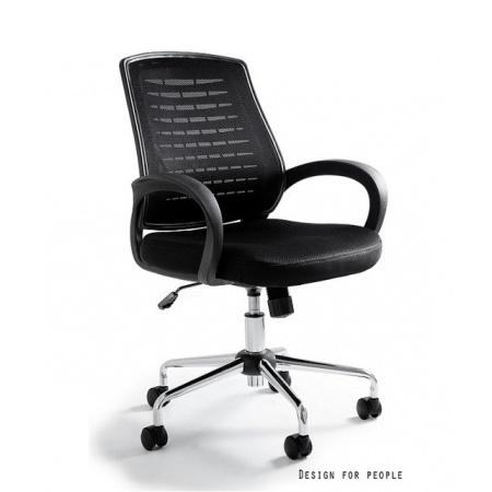 Unique Award Fotel biurowy, czarny W-120-4