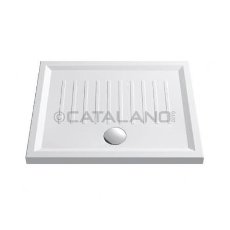 Catalano Verso New Brodzik 80x100 cm z powłoką CataGlaze, biały 180100H600