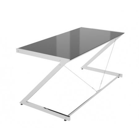 Unique Z-Line Main Desk Biurko 152x76 cm, czarne 816-01-B-C
