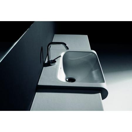 Kerasan Agua Libre Blat ceramiczny pod umywalkę, biały 341701