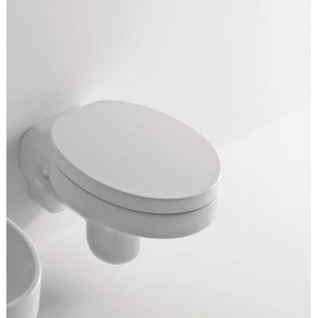 Kerasan Cento Miska wisząca 54x35 cm, biała 3515