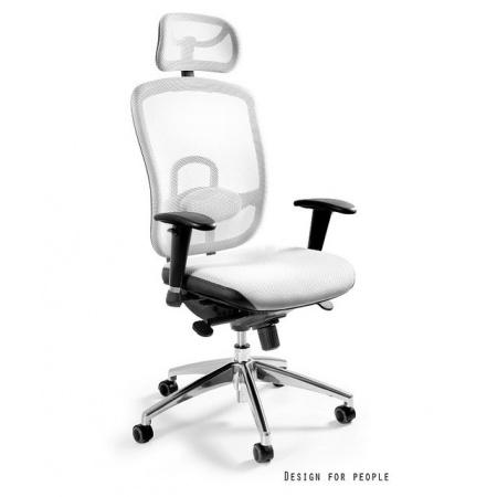 Unique Vip Fotel biurowy, biały W-80-0