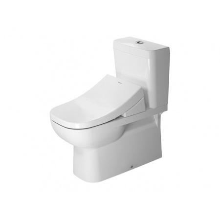 Duravit D-Code Miska WC stojąca 36x69,5 cm, lejowa, biała 21420900002