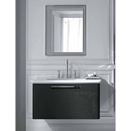 Globo Paestum Szafka wisząca pod umywalkę 93,5x52,5 cm, ciemny dąb PASL23