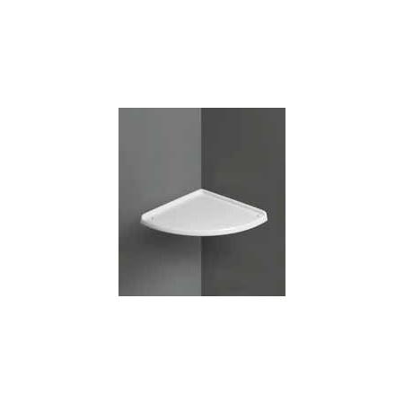 Simas Arcade Półka narożna, 54x54 cm, biała AR894
