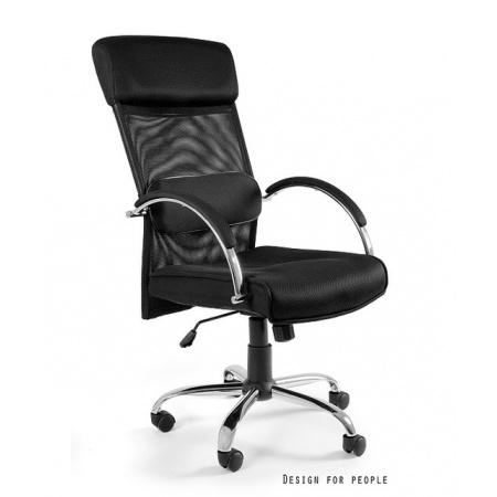 Unique Overcross Fotel biurowy, czarny W-62-4