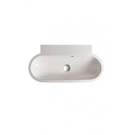 Globo Bowl Umywalka nablatowa 70x37cm, biała SB071.BI