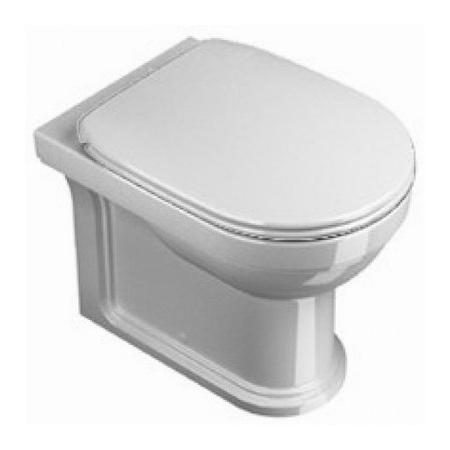 Catalano Canova Royal Miska WC stojąca z deską wolnoopadającą, biała 1VPCR00+5SSSTF00