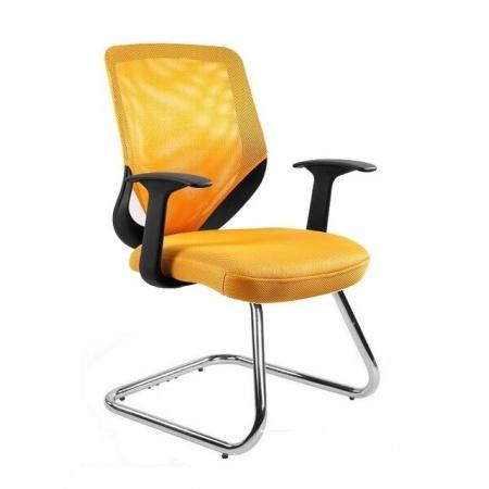 Unique Mobi Skid Fotel biurowy, żółty W-953-10